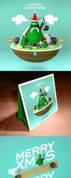 Christmas Card 2012 by Branieman