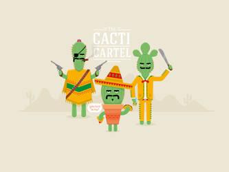 The Cacti Cartel by Branieman