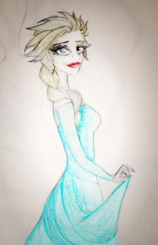 Elsa by Gothchick1995