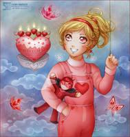 Pink Birthday by daekazu