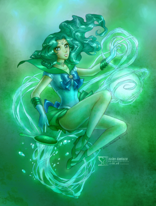 Sailor Moon: Neptune by daekazu