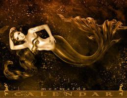 Mermaids Calendar by daekazu