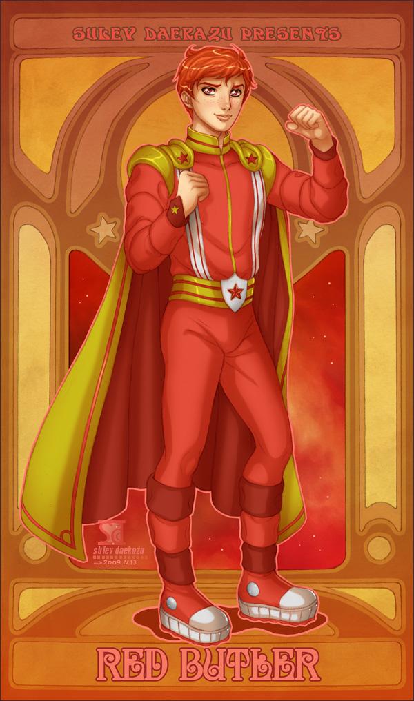 Rainbow Brite: Red Butler by daekazu