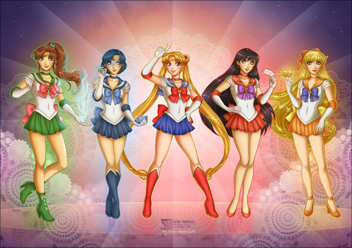 Bishoujo Senshi Sailor Moon by daekazu