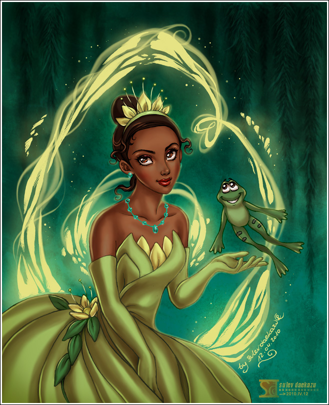 The Princess and the Frog by daekazu on DeviantArt