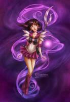 Sailor Moon: Saturn by daekazu