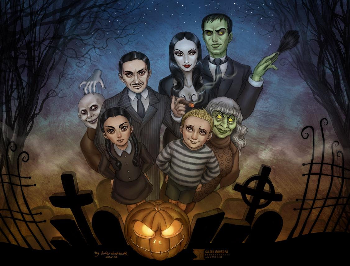 The Addams Family by daekazu