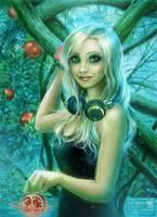 pomegranate songs in blue by daekazu