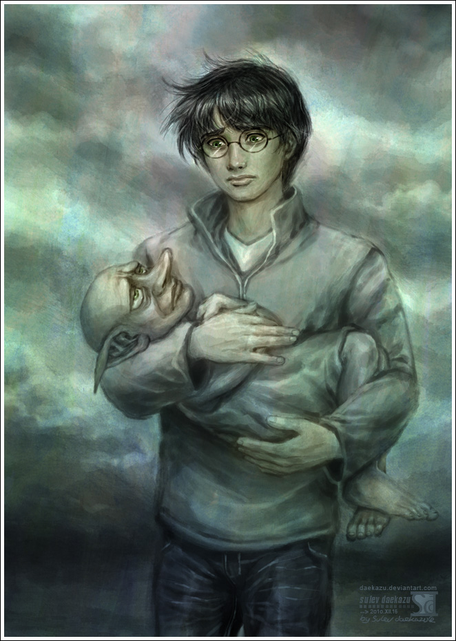 Harry Potter: Goodbye Dobby by daekazu