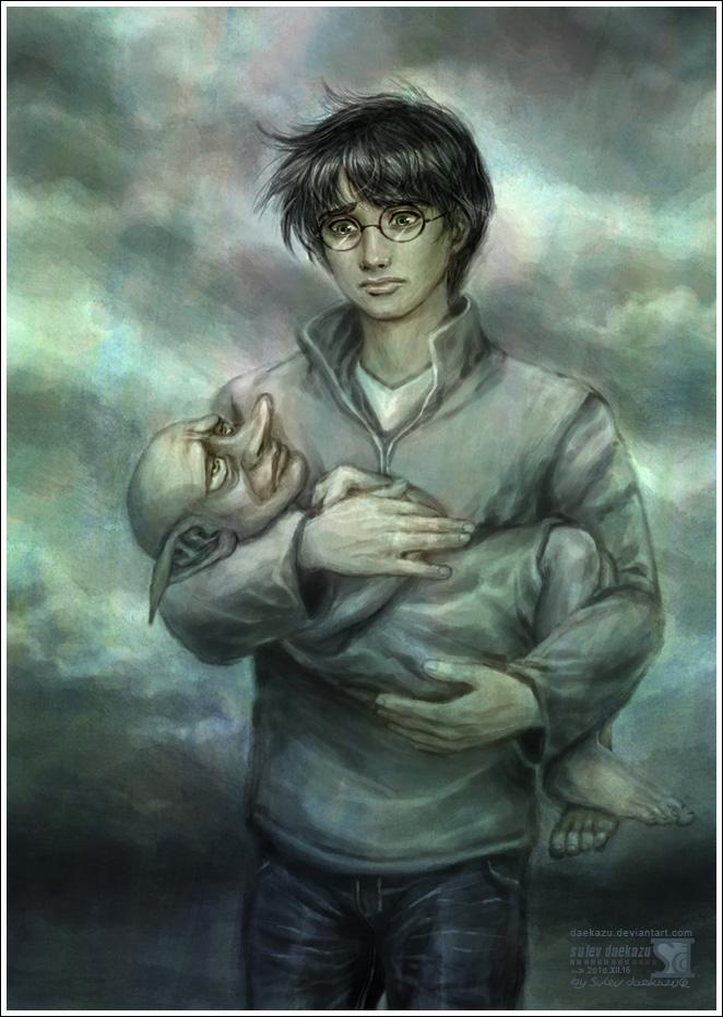Harry Potter Goodbye Dobby By Daekazu On Deviantart