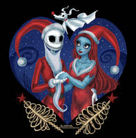 TNBC: Jack and Sally by daekazu