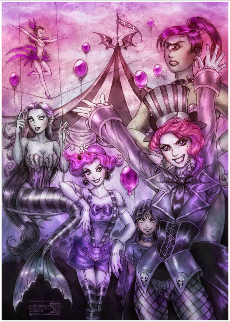 Demonic Circus by daekazu