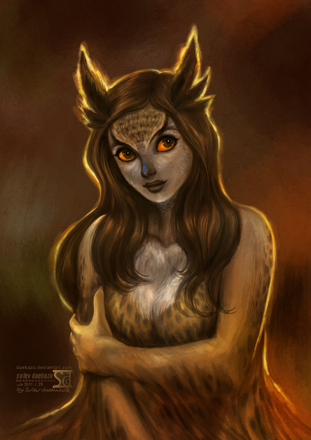 Lilith, la vidente. The_owl_by_daekazu-d37ysam