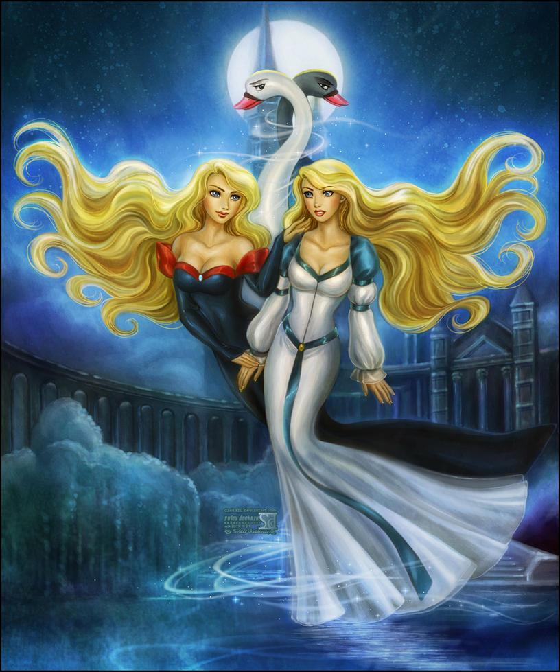 Black Swan Princess by daekazu