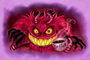 The Coffee Demon by daekazu
