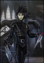 Edward Scissorhands by daekazu