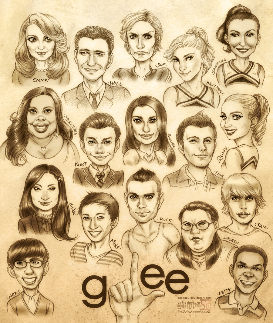 Glee by daekazu