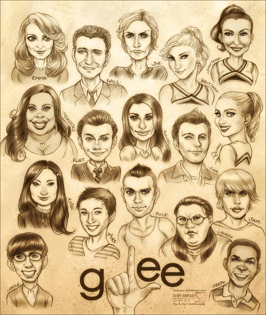 Glee by daekazu
