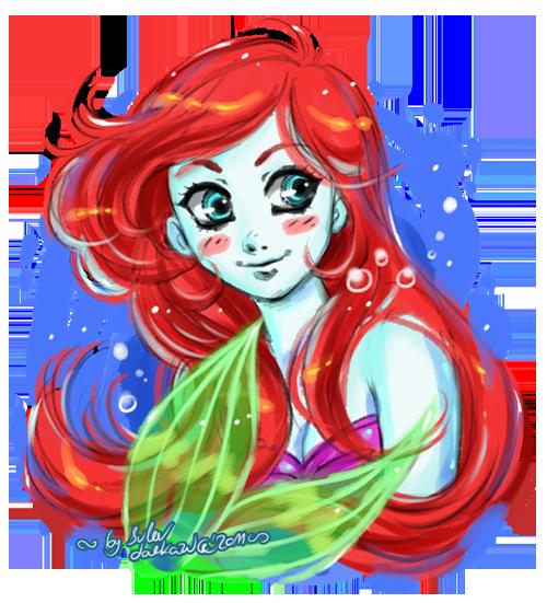 Sketchy Ariel by daekazu