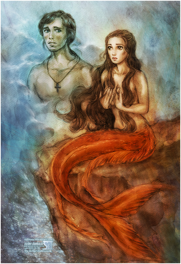POTC: Philip and Syrena by daekazu