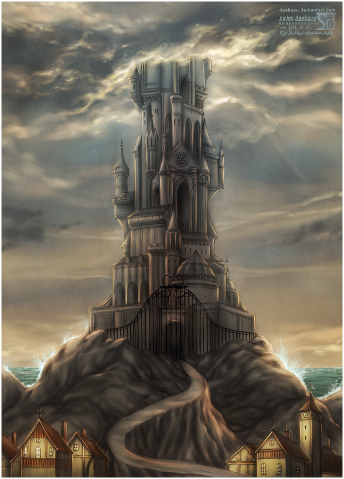 fantasy art wizard castle - photo #9
