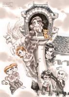 Harry Potter: Tangled by daekazu