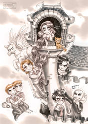 Harry Potter: Tangled by daekazu