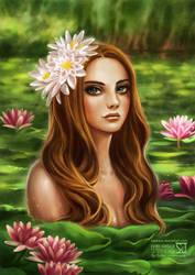 Lana Del Lake by daekazu