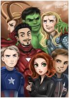 Avengers by daekazu