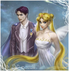 King Endymion + Neo Queen Serenity