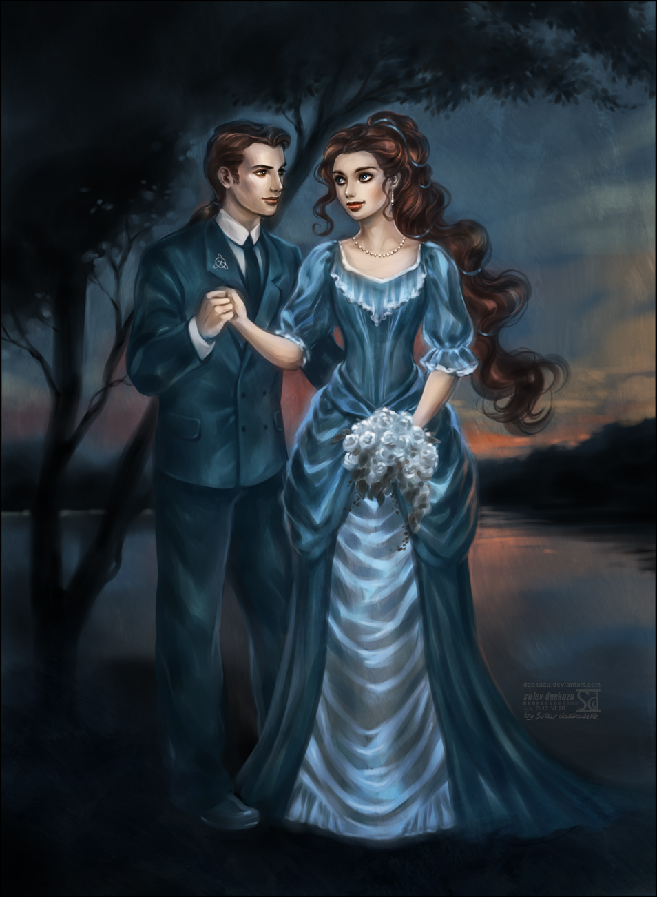 Victorian Love by daekazu