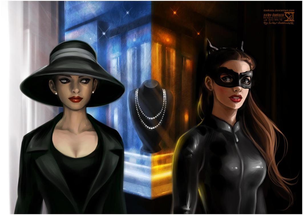 Dark Knight Rises: Catwoman by daekazu
