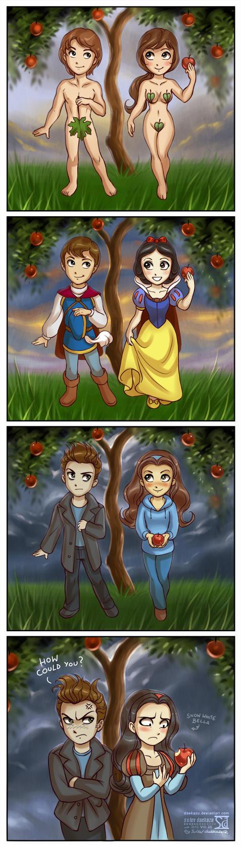 Twilight ep.16: Eve, SnowWhite and Bella by daekazu