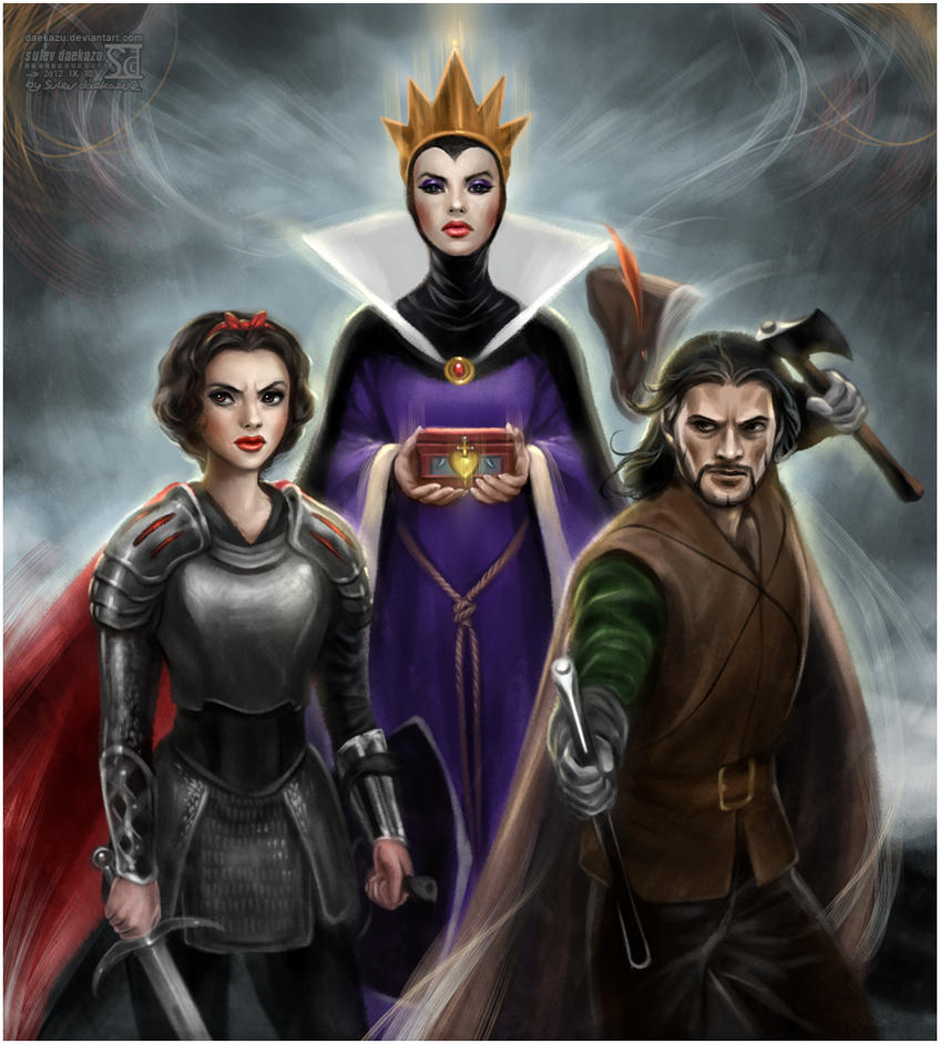 Snow White and Huntsman by Disney by daekazu