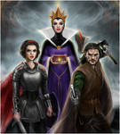 Snow White and Huntsman by Disney