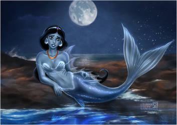 Jasmine in Blue by daekazu