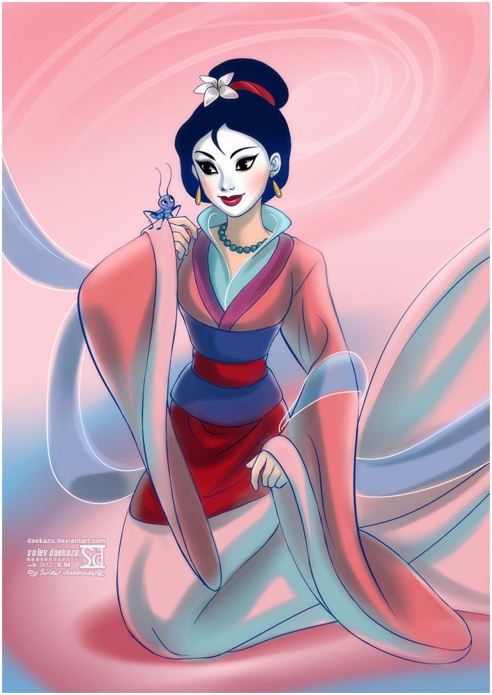 Mulan by daekazu