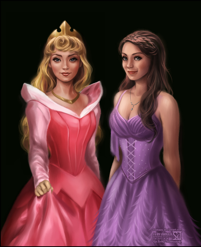 Princess Aurora by daekazu on DeviantArt