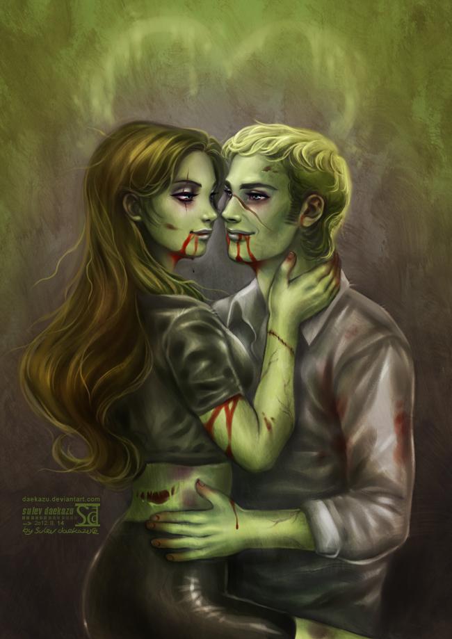 Zombie love by daekazu