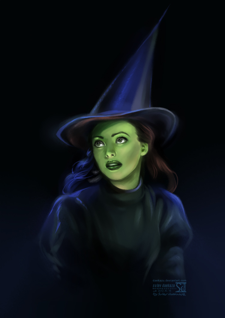 Wicked: Elphaba by daekazu