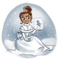 Winter Tiana by daekazu