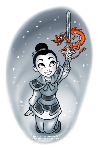 Winter Mulan by daekazu