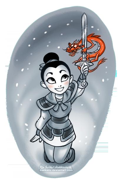 Winter Mulan by daekazu