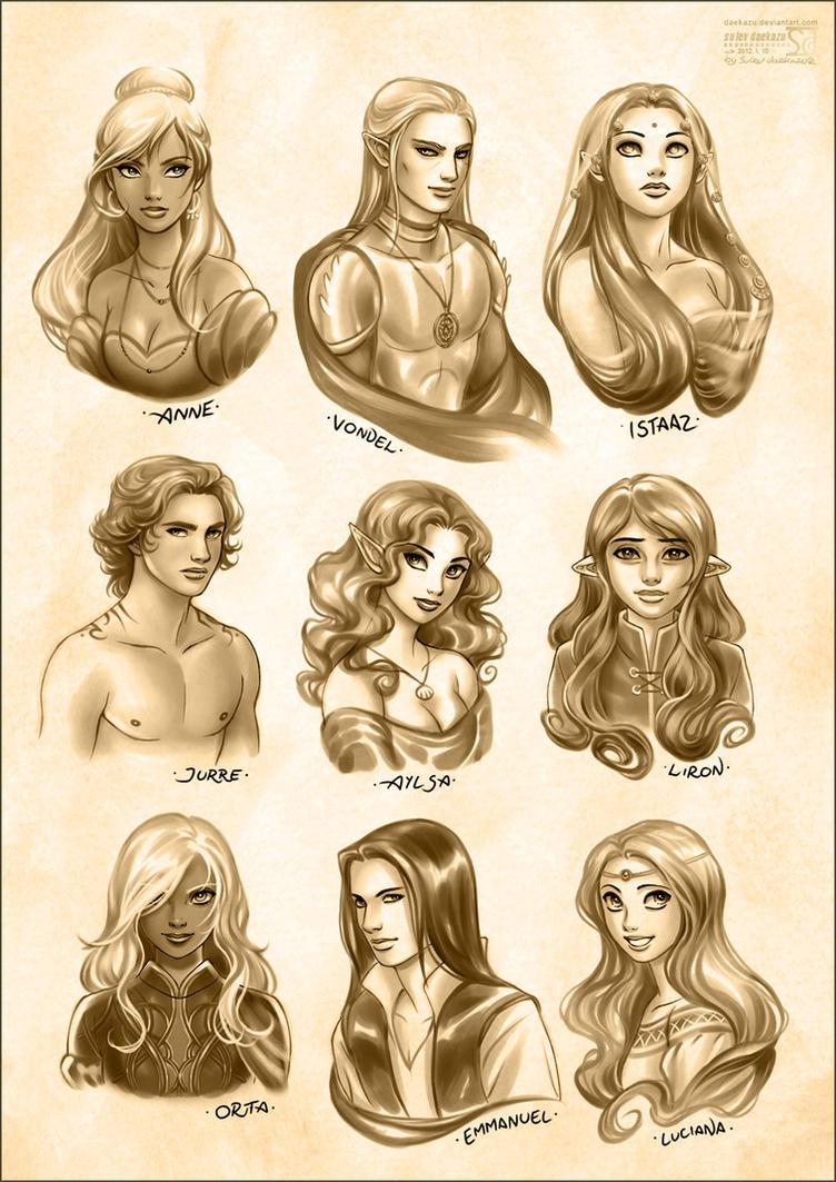 Fantasy Team by daekazu