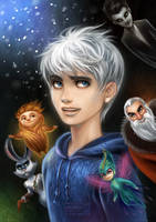 Rise of the Guardians by daekazu