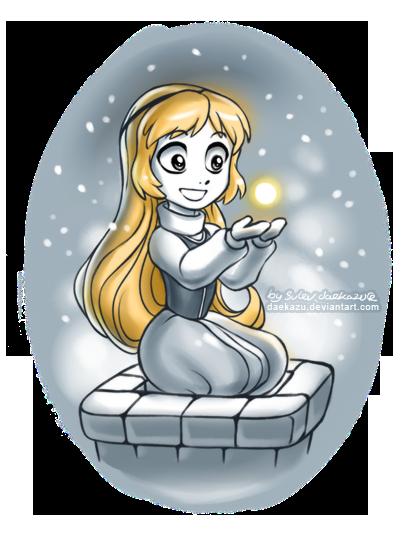 Winter Eilonwy by daekazu