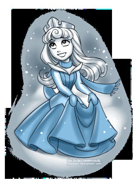 Winter Aurora by daekazu