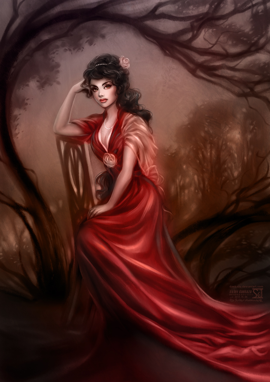 Lady in Red by daekazu