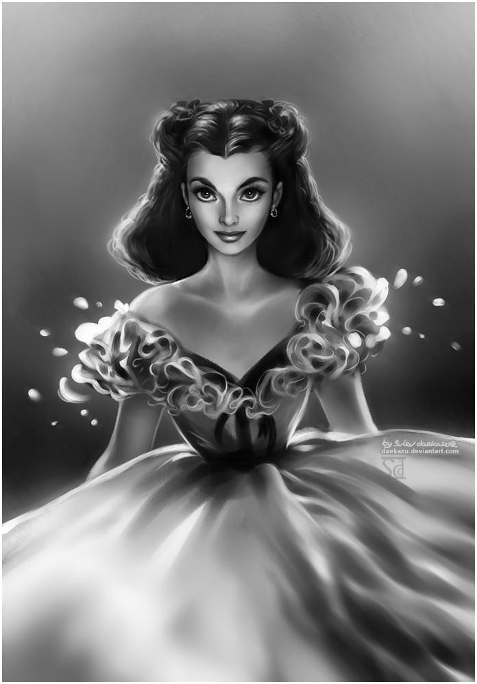 Vivien Leigh by daekazu