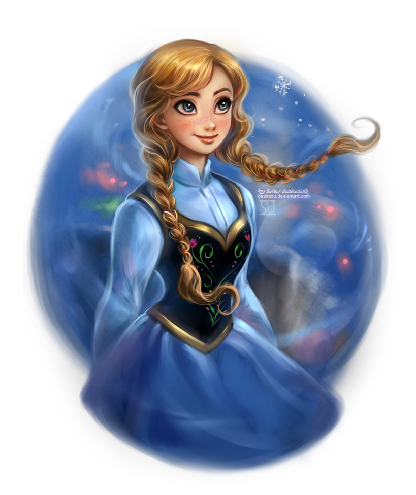 Frozen: Anna by daekazu on DeviantArt
